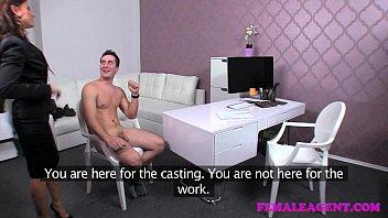 FemaleAgent Horny sex starved new agent Vorschaubild