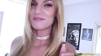Hot MILF Rachael Cavalli gets fucked by lucky stepson