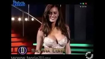 Silvina Luna sexy en tv