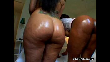 2 Phat Ass Sluts - nice thick ghetto booty black girls with chubby butt butts ebony ass asses