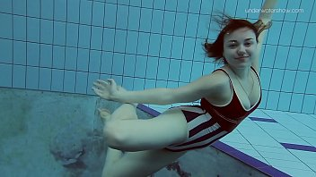 Poleshuk Lada second underwater sexy video