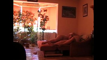 Hungarian Housewife-Sex with my boyfriend during the day
