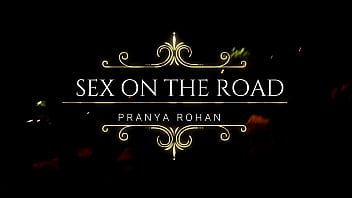 Video clips of threesome Desi wife pranya screaming and abusing loud on open road while fucking by couple friend hubby - bad video/hindi audio/desi gaali