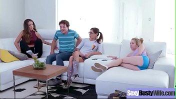 Slut Sexy Housewife (Isis Love) With Big Tits Enjoy Hard Sex On Cam vid-10