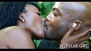 Black xxx video - Deep face hole vaginal sex
