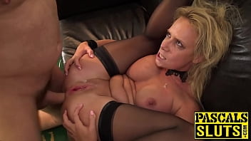 Uk people bdsm - Busty sasha steele anally spankbanged before cum spray
