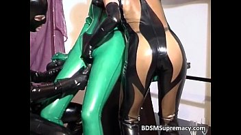Liquid latex for sale Filthy ginger babe in latex cloth gets