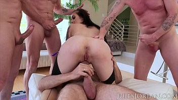 Jules Jordan - The Gangbang Of Marley Brinx