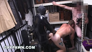 Calling out gay for a day - Gay pawn - we paid our new employee to fuck a gimp in the backroom