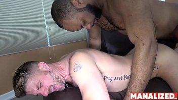 Matthew robinson australia gay Manalized black ray diesel cums after interracial bareback