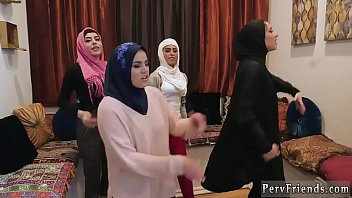 Teen reality first time Hot arab girls try foursome