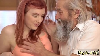 Old young fantasy Unexpected experience with an older gentleman