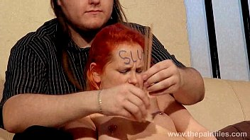 Spanked girlfriends erotic domination and amateur bdsm of chubby slave being whi