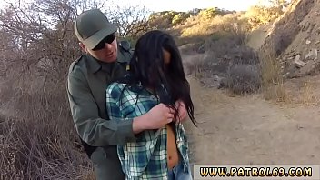 Police facial and cop agent first time Pretty latin woman Josie