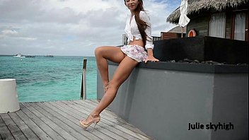 maldives teasing GML sandals & floating skirt C4ALL.WMV