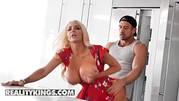 Sneaky Sex - (Nicolette Shea, Johnny Castle) - Kitchen Cockfidential - Reality Kings