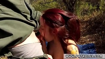 Tattoo girl blowjob xxx Oficer of patrol agrees to help redhaired