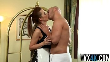 Maid Cindy Dollar Gets Asshole Drilled