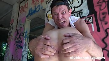 This Ugly Old Guy Is a Crazy Bareback Fucker!