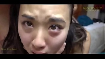 Asian cry facials Helpless asian schoolgirl forced hardcore fuck on live