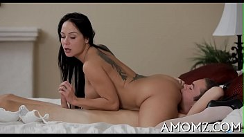 Hot mom is fingered and drilled preview image
