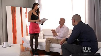 Xxx secretary video Eurasian beauty sharon lee gets dped