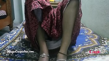 hot telugu desi wife opening her legs wide taking big cock inside her