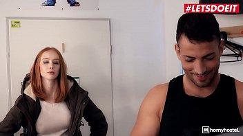 LETSDOEIT - #Lenina Crowne - Spanish Stud Tries Sex With His Sexy British Big Tits Roommate