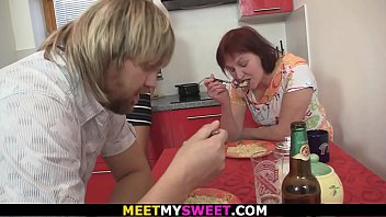 Hubby finds old couple fuck his young wife
