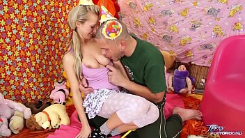 Teenyplayground Bella Baby Celebrate Her 18Th Birthday With Older Man In Bed