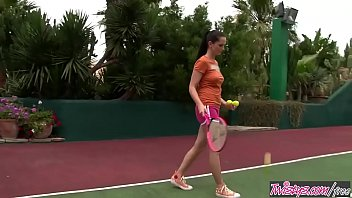 Twistys - (Sandra Shine) starring at Tennis Anyone