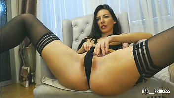 Camhos - 009 Brunette with amazing Ass (chaturbate.com/Bad  princess/) thumbnail
