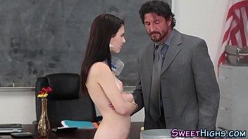 High school slut sucking