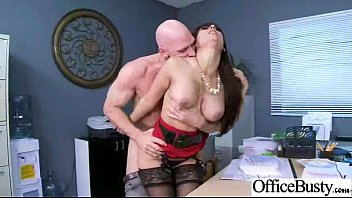 Sex Tape With (reena sky) Big Tits Hard Worker Girl In Office clip-27