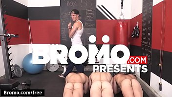Bromo - Evan Marco with Griffin Barrows Jeremy Spreadums John Delta Shawn Reeve at Train Me Part 4 Scene 1 - Trailer preview