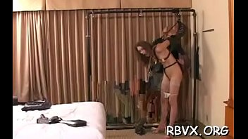 Mature mother i'd like to fuck gets slavery treatment with another girl
