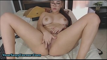 Busty Big Ass 18yo Latina Teen Sucks And Fucks Big Fat Dildo