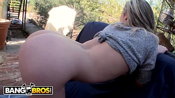 BANGBROS - Petite Blonde Bailey Blue Gets Outdoor Anal Sex From Mike Adriano