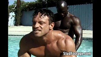 Gay men in waverley Interracial poolside gay anal fucking