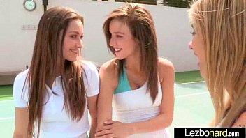 Sexy Hot Lesbians (Dani Daniels & Malena Morgan & Lia Lor) In Love Sex Action mov-15