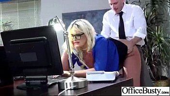 Office Busty Girl (julie cash) Get Hard Style Banged clip-18
