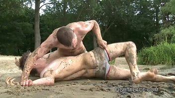 Fighting twinks Gay wrestling on fightplace - beach and boat xxx