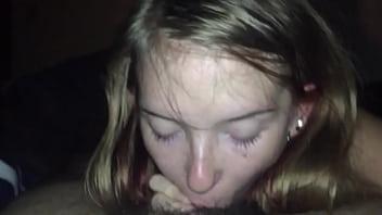 Thot Blonde Oral Creampie
