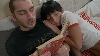 Ingrid chauvin pornos Cuddly couple getting horny