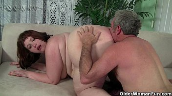 BBW milf Cherie A. Lunas gets fucked and facialized thumbnail