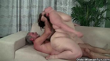 Bending free naked over pic woman - Bbw milf cherie a. lunas gets fucked and facialized