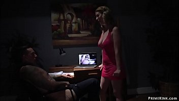Domme wife pegging pervert husband