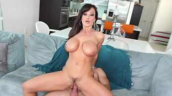 CULIONEROS - Epic MILF Lisa Ann Drives Mirko Steel Crazy With Her Big Tits and Big Ass