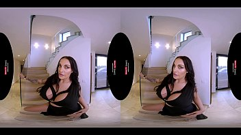 German MILF with Huge Boobs in VR POV thumbnail