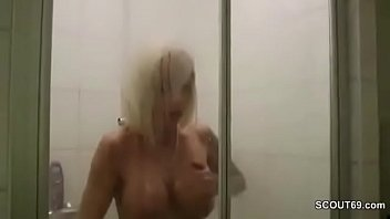 Friend Of Son Caught German Milf In Shower And Seduce Fuck